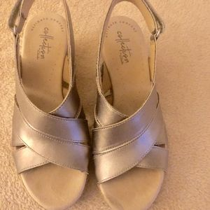 Collection by Clarks Leather  Size 6